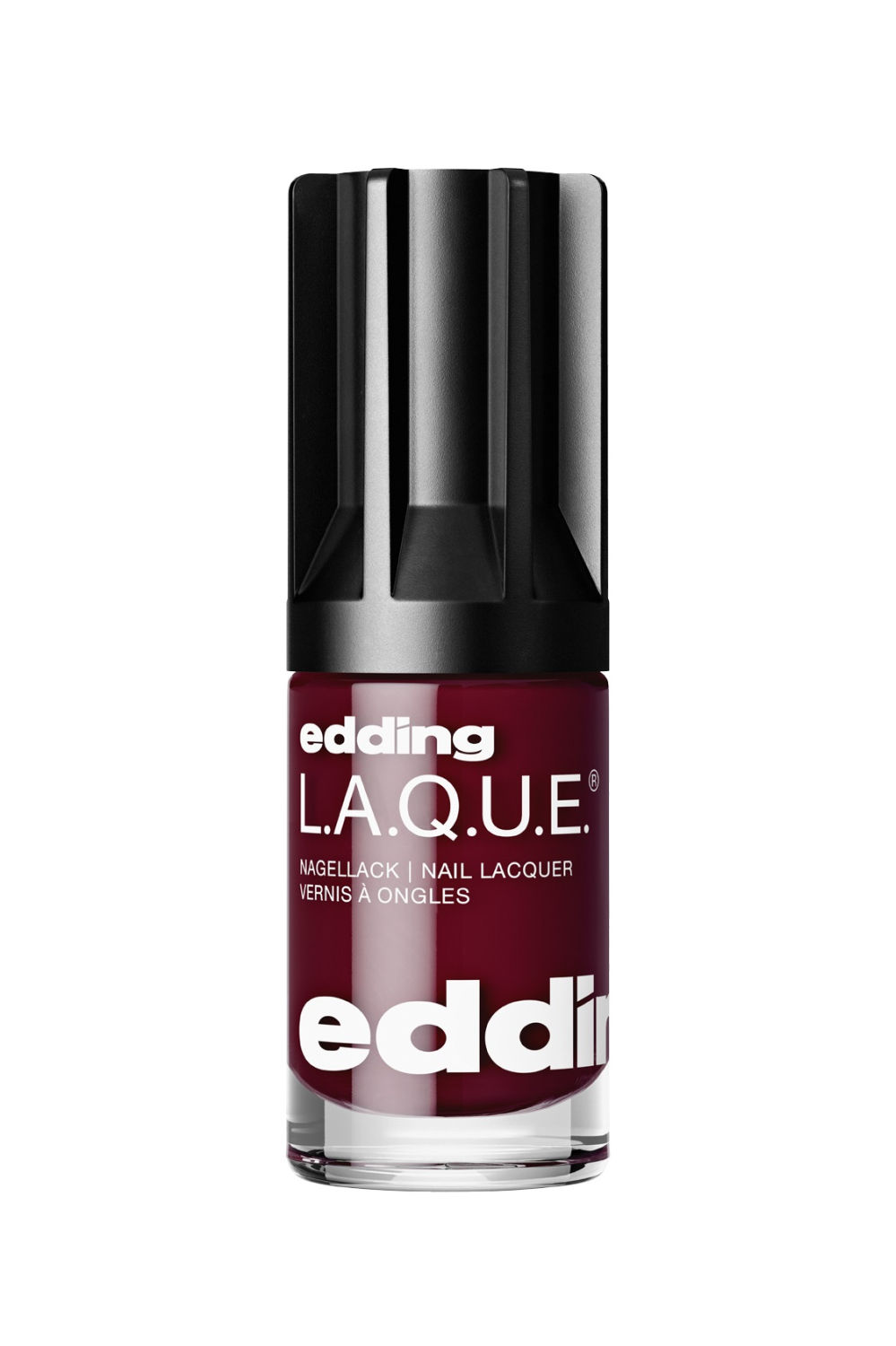 edding L.A.Q.U.E. edding LAQUE daily dark red