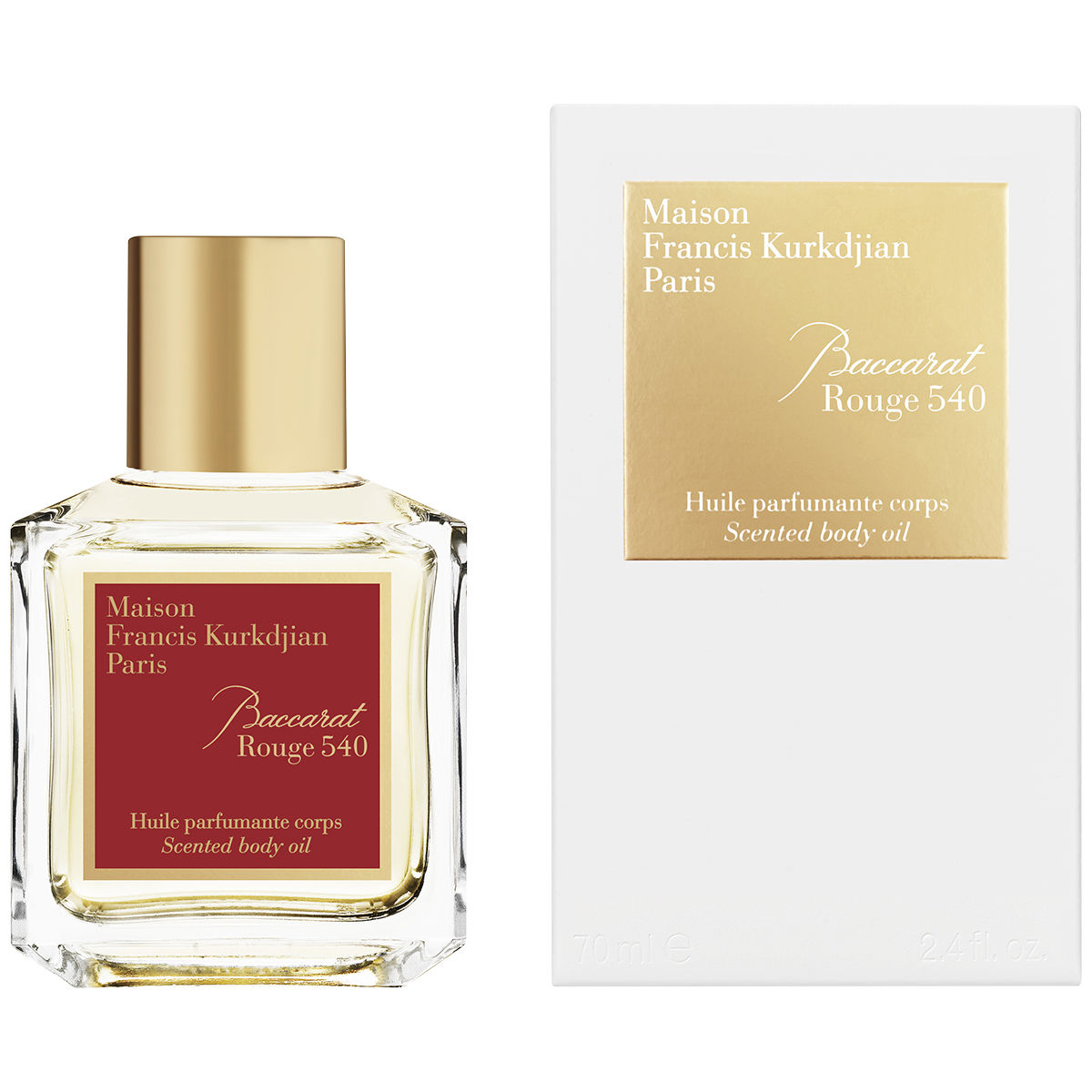 Baccarat Rouge 20 Body Oil